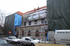 Remont Pałacu Vauxhall, 2010