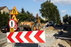 Trwa przebudowa ulicy Długiej