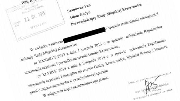 regulamin_nadzor_wojewody_krzeszowice
