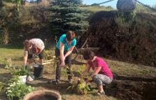 Mieszkańcy Tenczynka i Rudna tworzą ziołowe zakątki