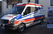Krzeszowickie pogotowie dostało nowy ambulans