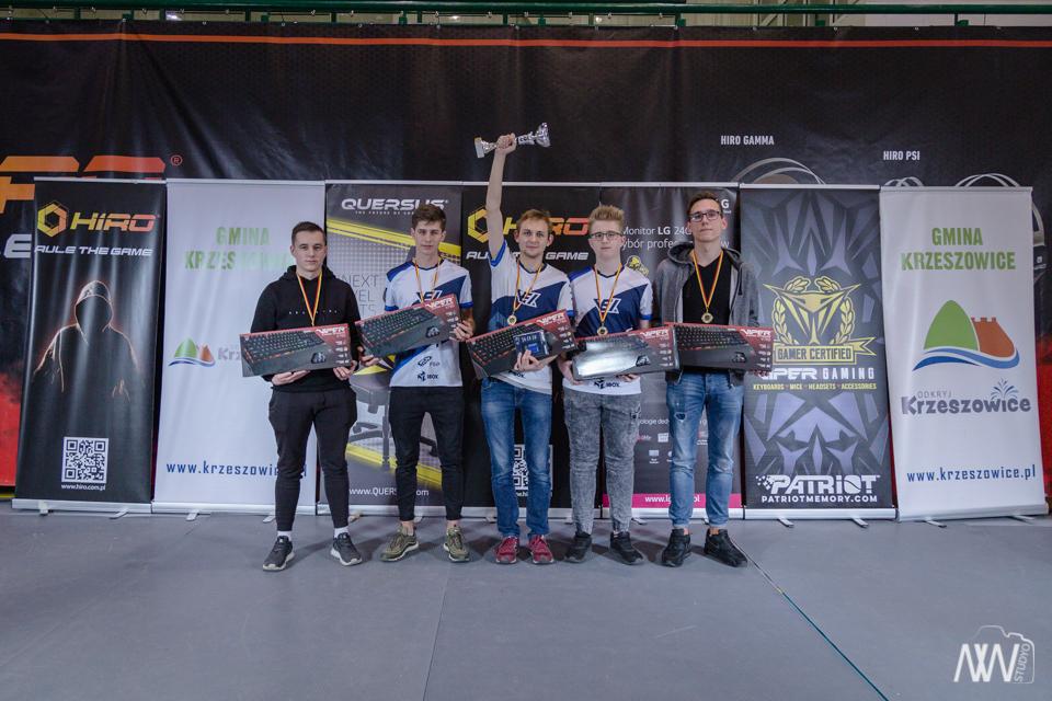 I miesjce – HIRO Quersus Puchar Polski w E-sporcie