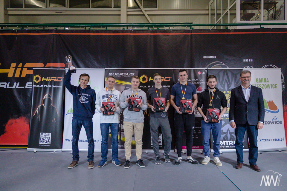 II miesjce – HIRO Quersus Puchar Polski w E-sporcie