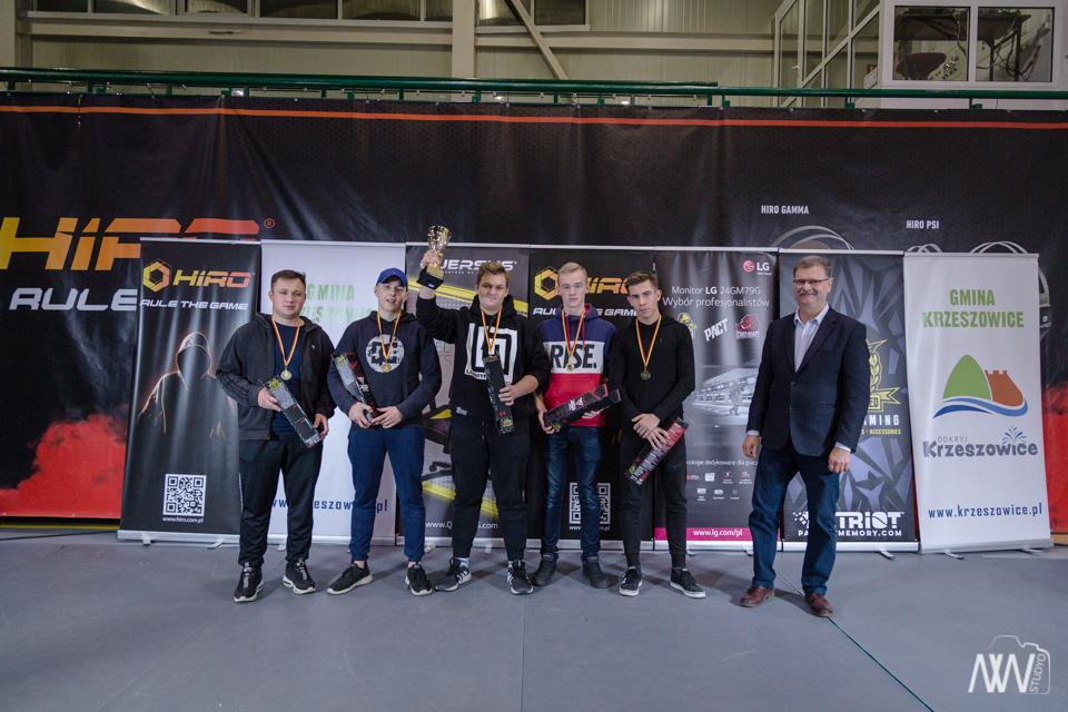II miesjce – LG Mistrzostwa Polski Szkół w E-sporcie