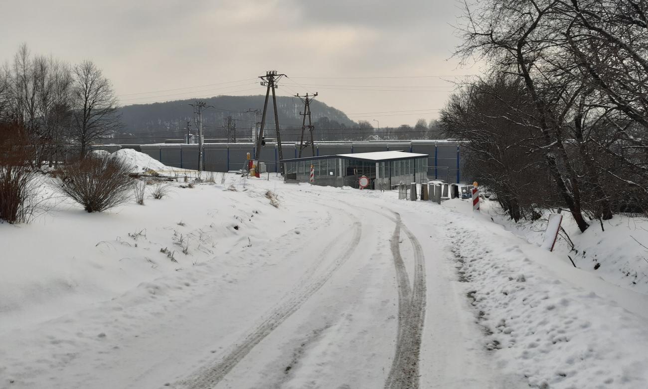 Wiadukt kolejowy na ulicy Zielonej w Woli Filipowskiej